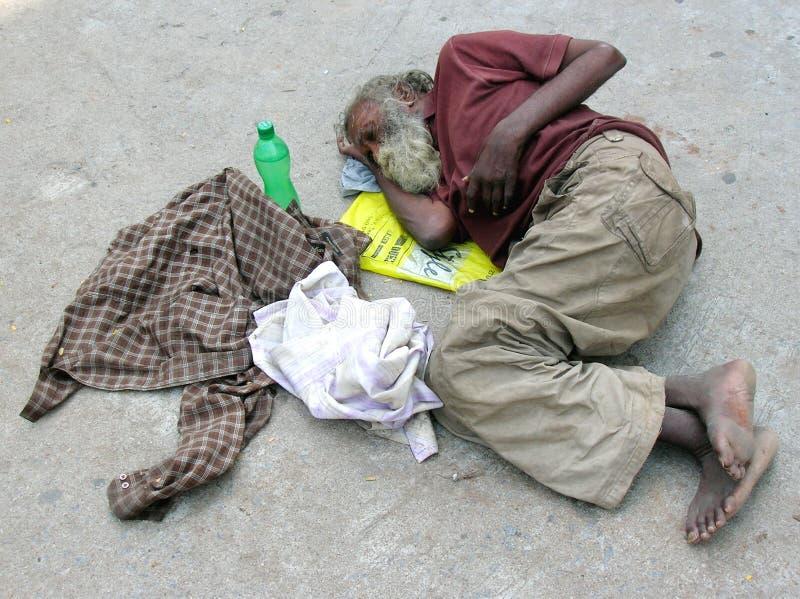 άστεγο πρόσωπο στοκ εικόνες με δικαίωμα ελεύθερης χρήσης