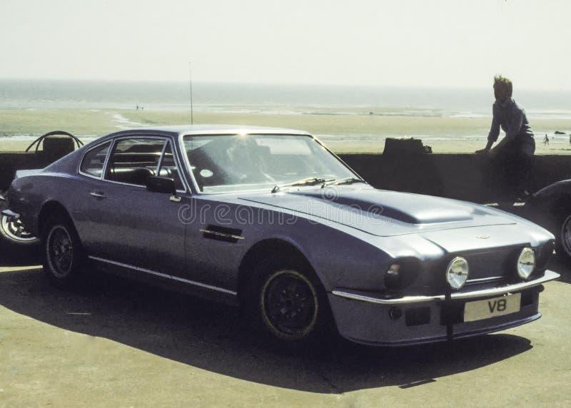 Άστον Martin V8 στοκ εικόνα με δικαίωμα ελεύθερης χρήσης