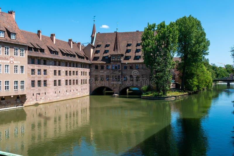 Άσυλο του ιερού πνεύματος στη Νυρεμβέργη στοκ εικόνες με δικαίωμα ελεύθερης χρήσης