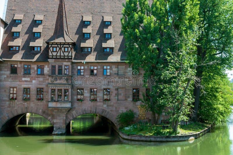 Άσυλο του ιερού πνεύματος στη Νυρεμβέργη στοκ φωτογραφία με δικαίωμα ελεύθερης χρήσης