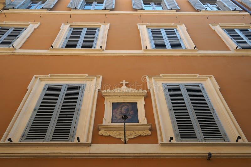Άσυλο του ST ιουλιανό του Flemings στη Ρώμη, Ιταλία στοκ εικόνες