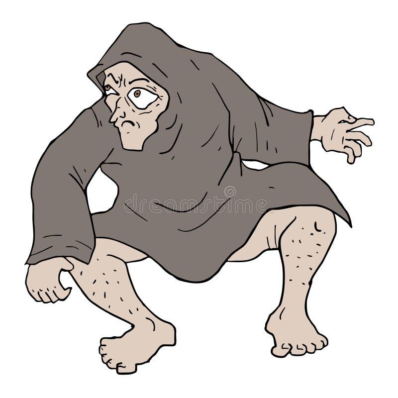 Άσχημη druid απεικόνιση ελεύθερη απεικόνιση δικαιώματος