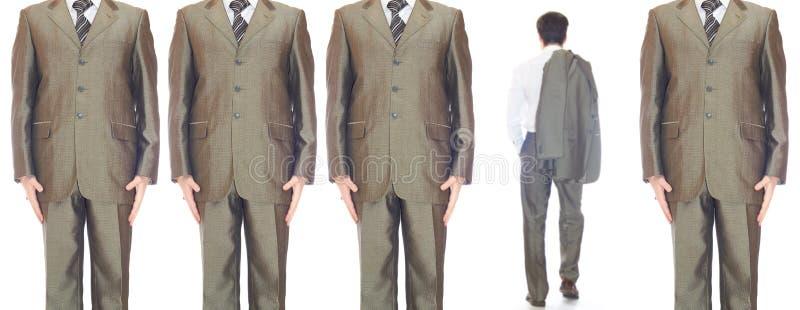 Άτομα στα κοστούμια στοκ εικόνες