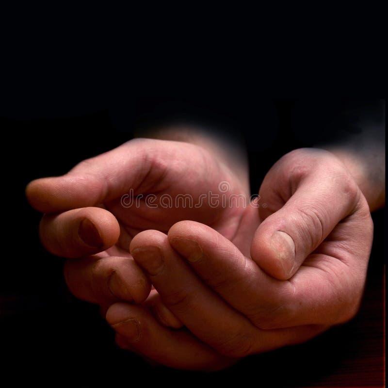 άτομα s χεριών στοκ εικόνα