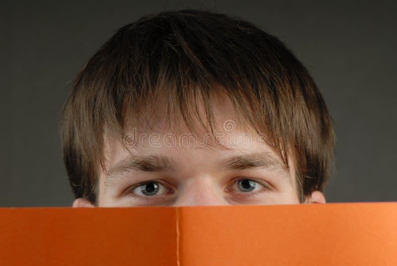 άτομο βιβλίων στοκ φωτογραφία με δικαίωμα ελεύθερης χρήσης