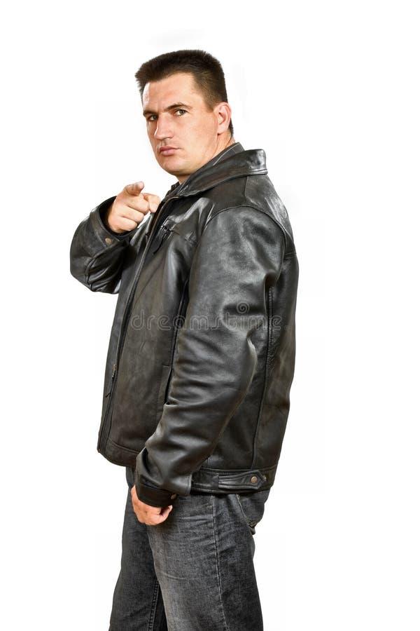 άτομο γκάγκστερ στοκ φωτογραφία