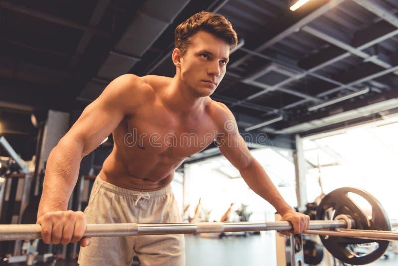 άτομο γυμναστικής στοκ φωτογραφίες με δικαίωμα ελεύθερης χρήσης