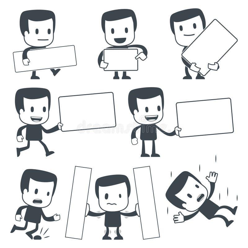 άτομο εικονιδίων διανυσματική απεικόνιση
