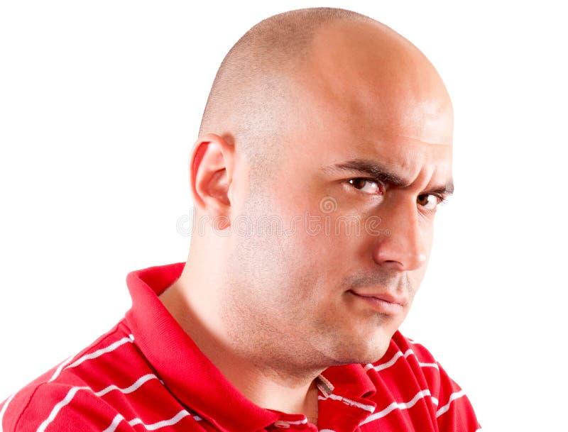 Άτομο θυμού στοκ εικόνες