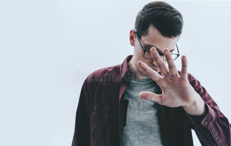 Άτομο και χέρι στοκ φωτογραφίες με δικαίωμα ελεύθερης χρήσης