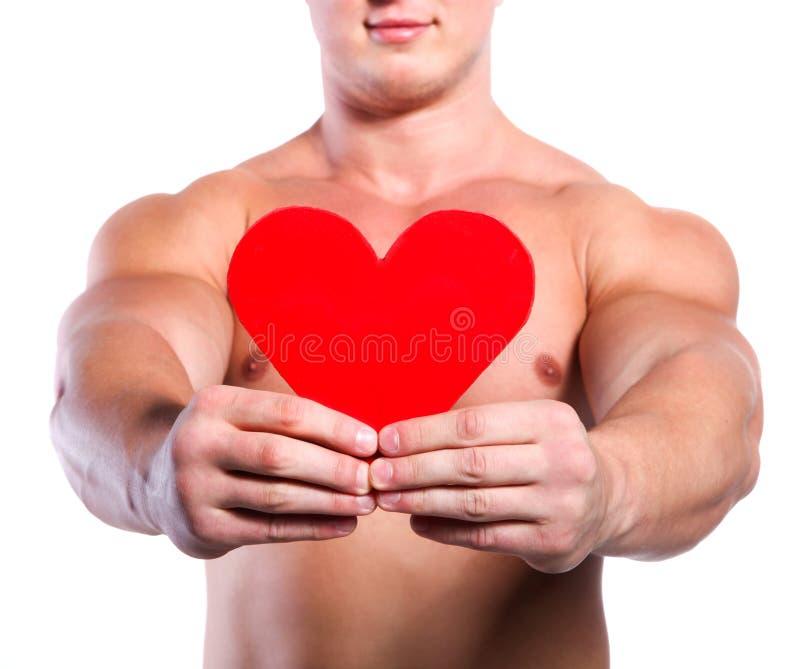 άτομο καρδιών στοκ εικόνα με δικαίωμα ελεύθερης χρήσης