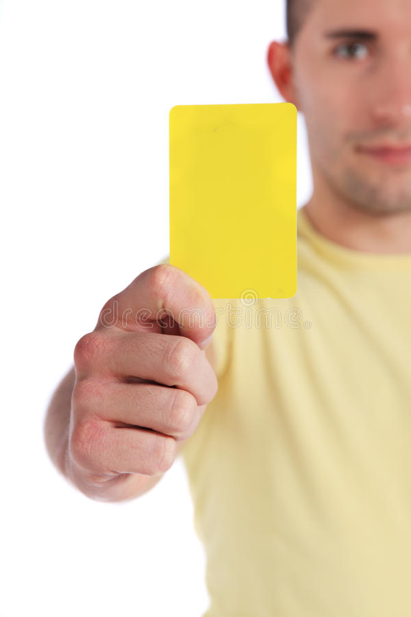 άτομο καρτών που εμφανίζε&io στοκ φωτογραφία με δικαίωμα ελεύθερης χρήσης