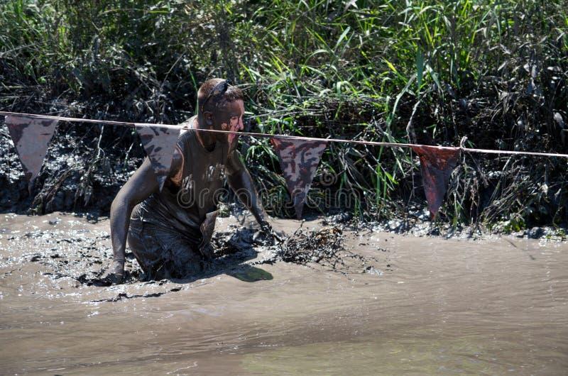 Άτομο λάσπης στοκ εικόνα με δικαίωμα ελεύθερης χρήσης