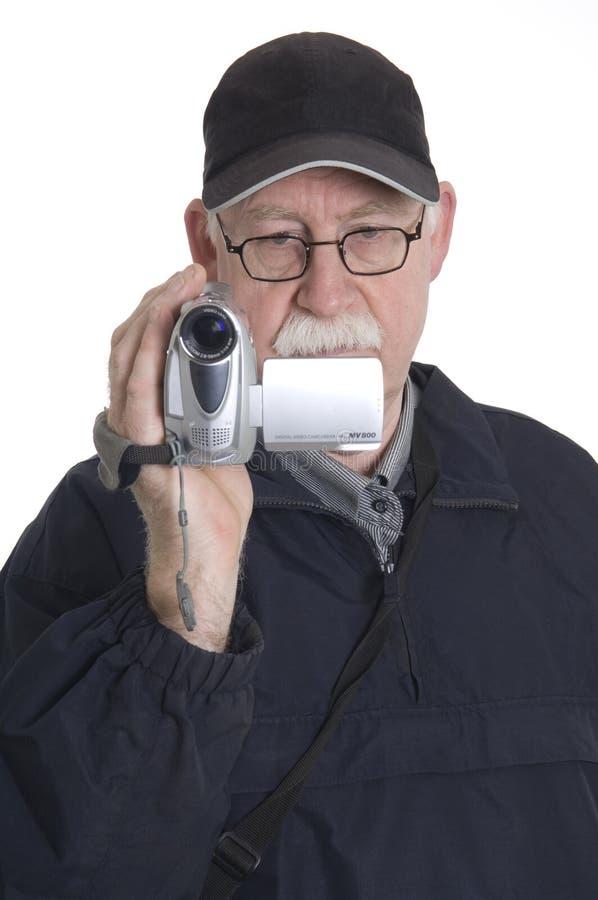 άτομο μαγνητοσκόπησης στοκ εικόνα με δικαίωμα ελεύθερης χρήσης