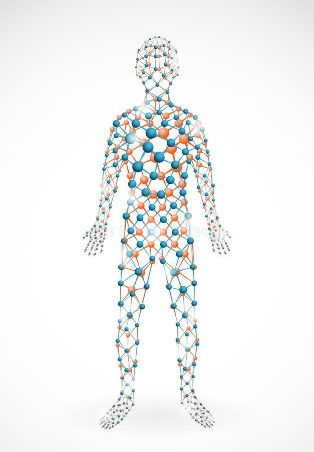 άτομο μοριακό ελεύθερη απεικόνιση δικαιώματος