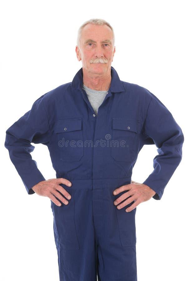 Άτομο μπλε σε γενικό στοκ εικόνες με δικαίωμα ελεύθερης χρήσης