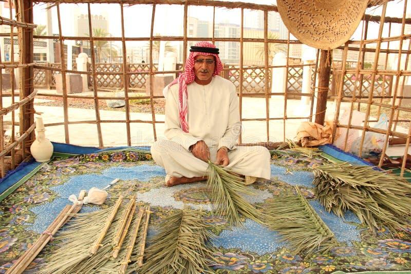 Άτομο Ντουμπάι Αμπού Νταμπί Emirati στοκ εικόνα με δικαίωμα ελεύθερης χρήσης