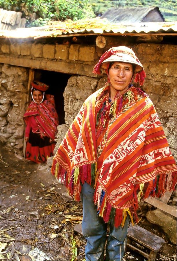 άτομο Περού στοκ φωτογραφία με δικαίωμα ελεύθερης χρήσης