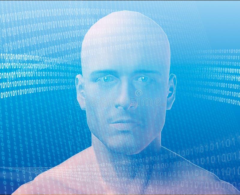 άτομο πληροφοριών απεικόνιση αποθεμάτων