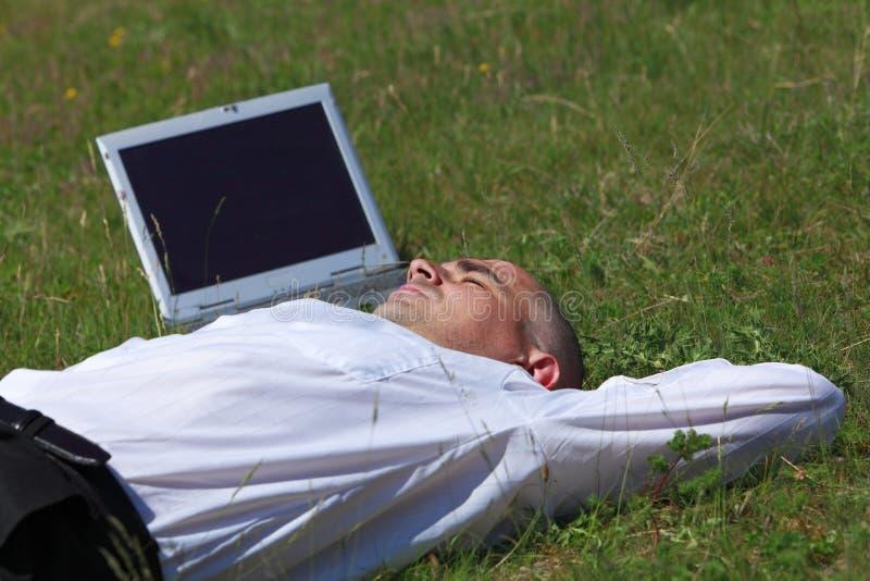 άτομο που κουράζεται στοκ εικόνες με δικαίωμα ελεύθερης χρήσης