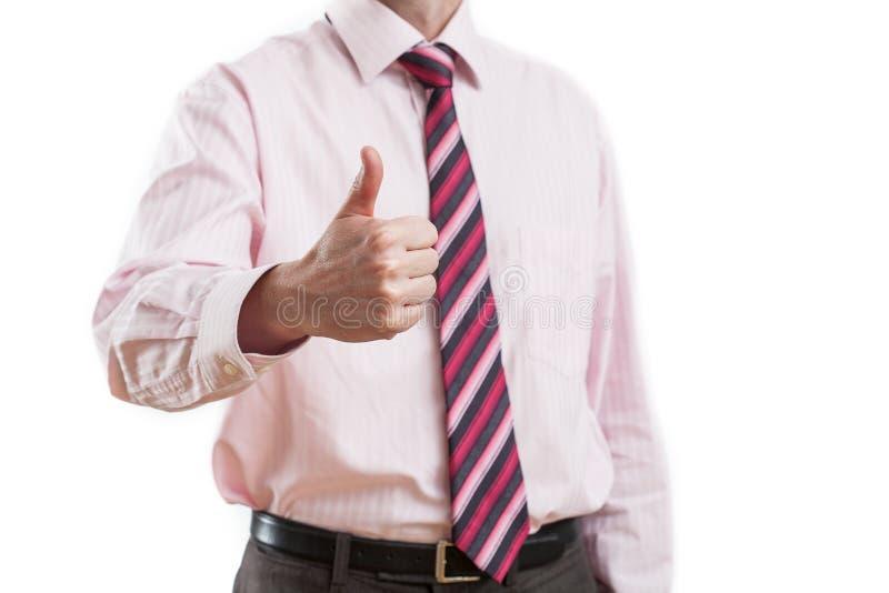 Άτομο που παρουσιάζει χειρονομία της αποδοχής στοκ φωτογραφίες με δικαίωμα ελεύθερης χρήσης