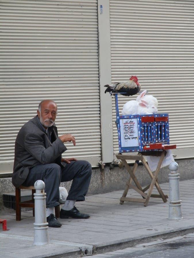 Άτομο που προβλέπει το μέλλον, Ιστανμπούλ, Τουρκία στοκ φωτογραφίες με δικαίωμα ελεύθερης χρήσης