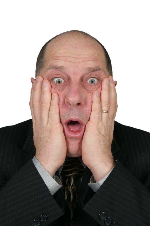άτομο που συγκλονίζεται επιχειρησιακό στοκ φωτογραφία με δικαίωμα ελεύθερης χρήσης