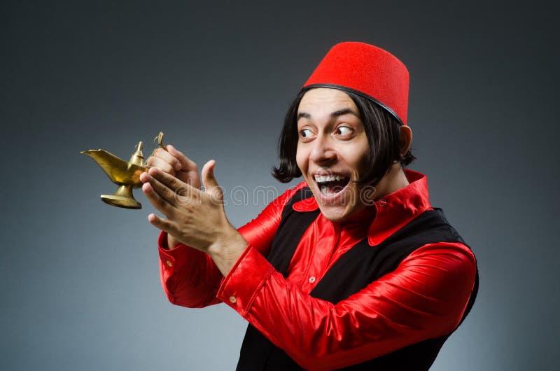 Download Άτομο που φορά το κόκκινο καπέλο του Fez Στοκ Εικόνες - εικόνα από κόκκινος, arabesque: 62705220