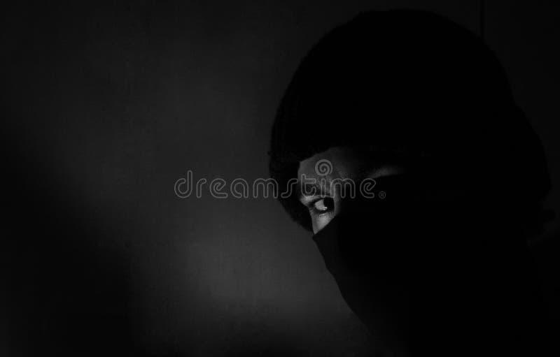 Άτομο σκιών στοκ φωτογραφία με δικαίωμα ελεύθερης χρήσης