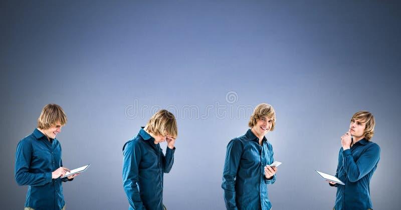 Άτομο στη σειρά στοκ φωτογραφία με δικαίωμα ελεύθερης χρήσης