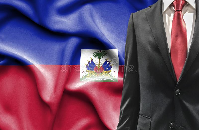Άτομο στο κοστούμι από την Αϊτή στοκ εικόνες