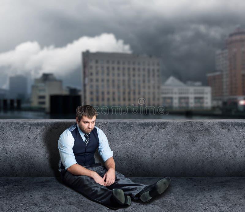 Άτομο στο πάτωμα στοκ φωτογραφία με δικαίωμα ελεύθερης χρήσης