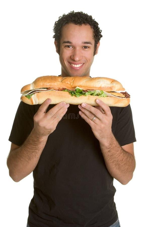 άτομο τροφίμων στοκ εικόνες