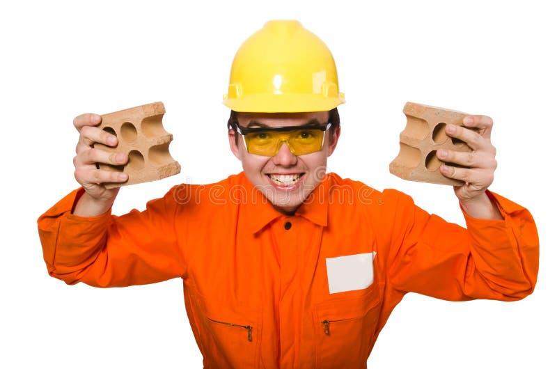 Download Άτομο φόρμες που απομονώνεται στις πορτοκαλιές στο λευκό Στοκ Εικόνες - εικόνα από σπίτι, έσπασαν: 62705590
