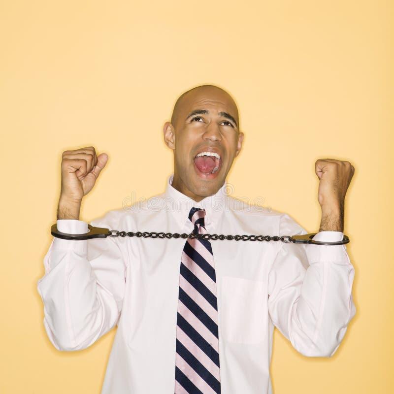 άτομο χειροπεδών στοκ φωτογραφίες με δικαίωμα ελεύθερης χρήσης
