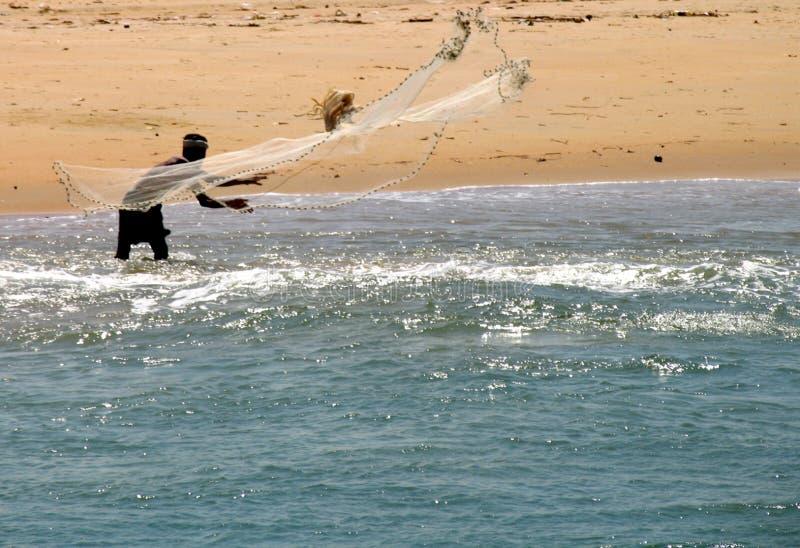 άτομο ψαράδων στοκ φωτογραφίες με δικαίωμα ελεύθερης χρήσης
