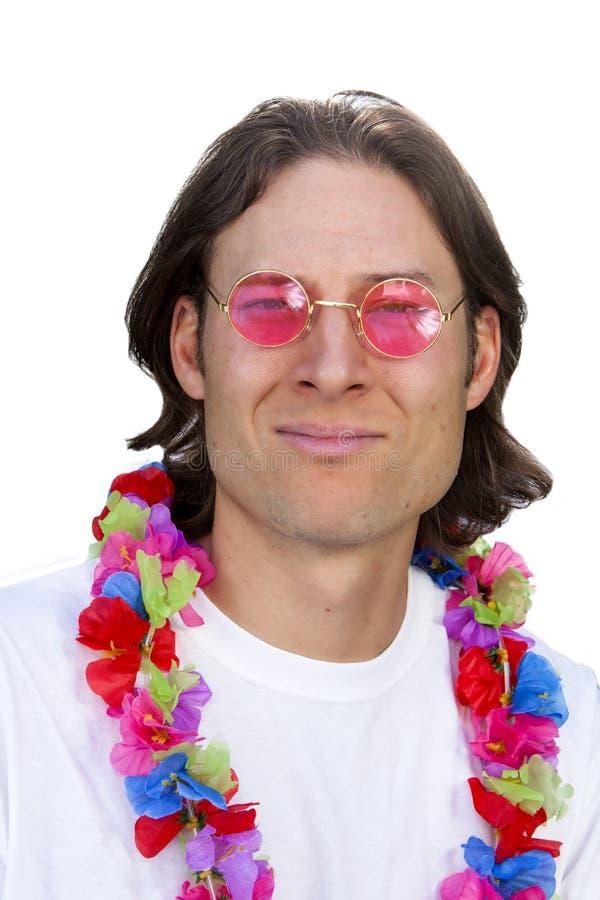 Άτομο Aloha στοκ εικόνες