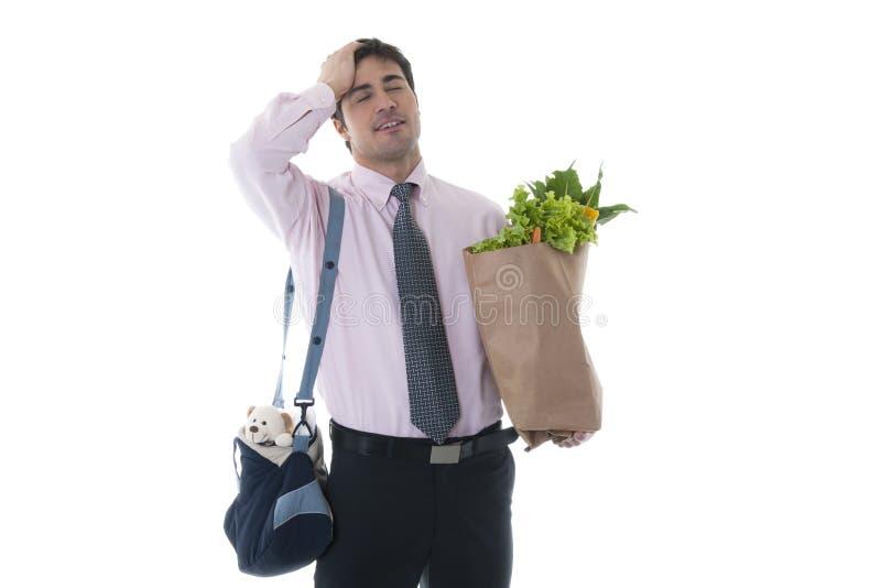 Άτομο Exausted στοκ φωτογραφία με δικαίωμα ελεύθερης χρήσης