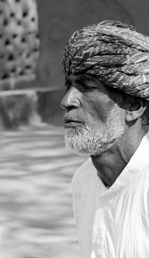 Άτομο Rajasthani στοκ φωτογραφίες με δικαίωμα ελεύθερης χρήσης