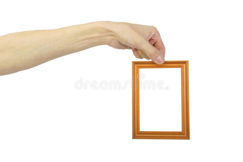 άτομο s χεριών πλαισίων στοκ φωτογραφία με δικαίωμα ελεύθερης χρήσης