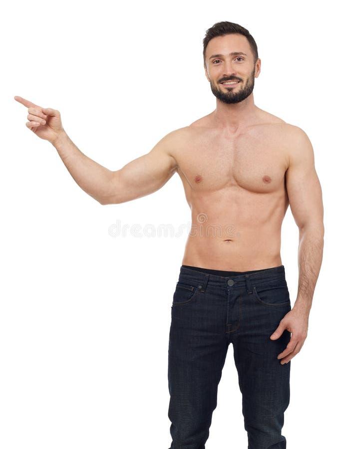 άτομο shirtless στοκ εικόνες