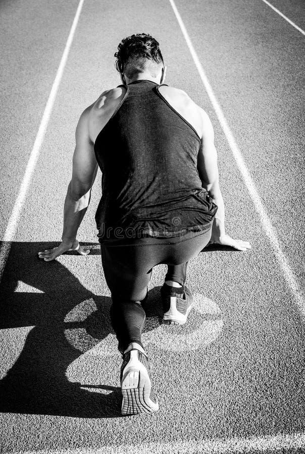 Άτομο Sprinter στοκ φωτογραφίες