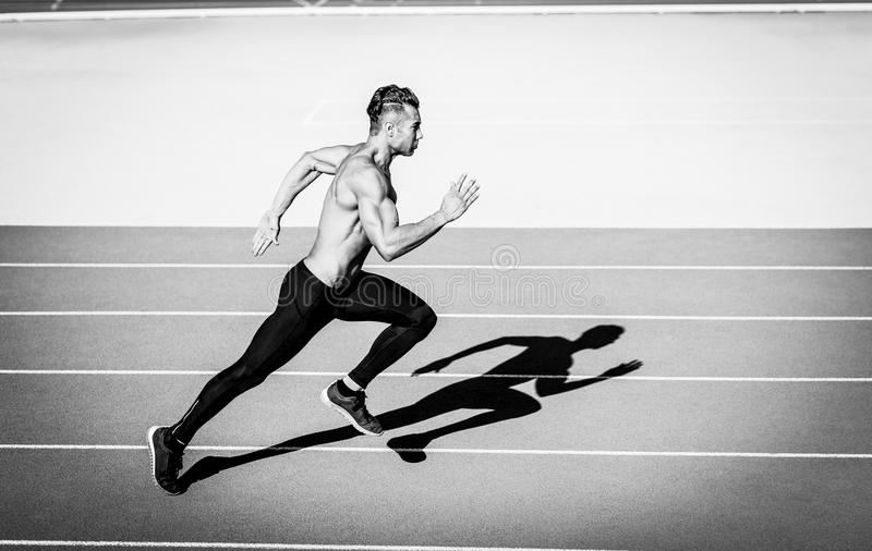Άτομο Sprinter στοκ εικόνες
