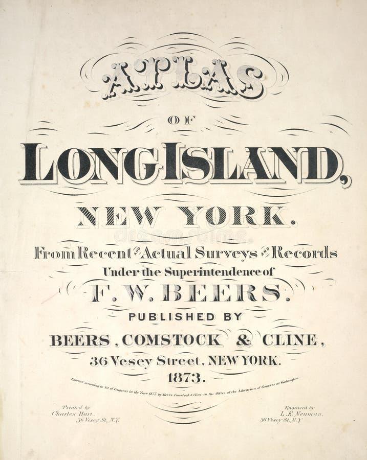 Άτλαντας του Long Island στοκ εικόνες