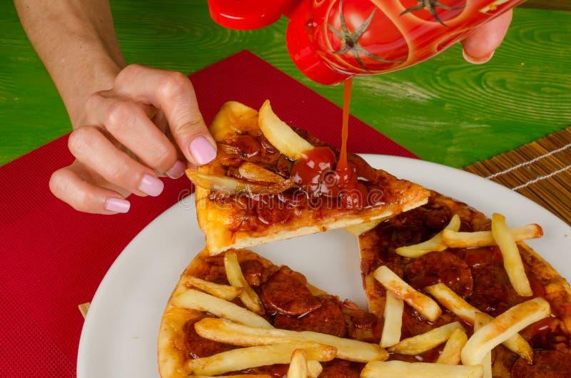 Άχρηστο φαγητό στοκ εικόνα με δικαίωμα ελεύθερης χρήσης