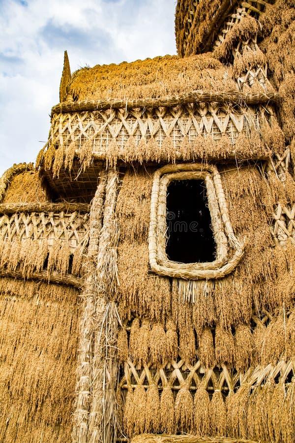Άχυρο του Castle στοκ εικόνες με δικαίωμα ελεύθερης χρήσης