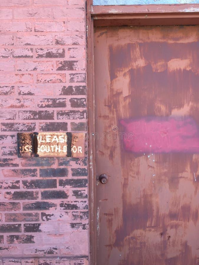 Άλλη πόρτα στοκ εικόνα