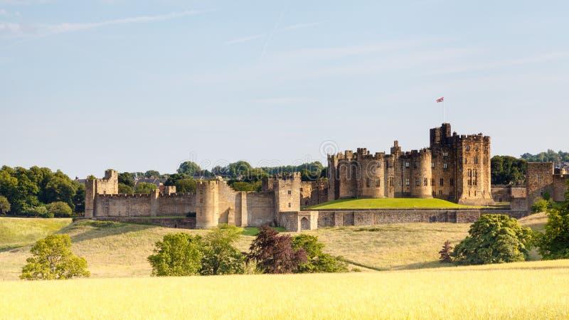 Άλνγουίκ Castle στοκ φωτογραφία με δικαίωμα ελεύθερης χρήσης