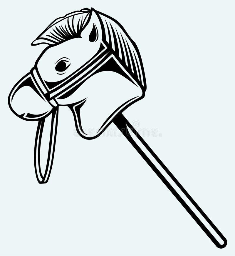 Άλογο παιχνιδιών απεικόνιση αποθεμάτων