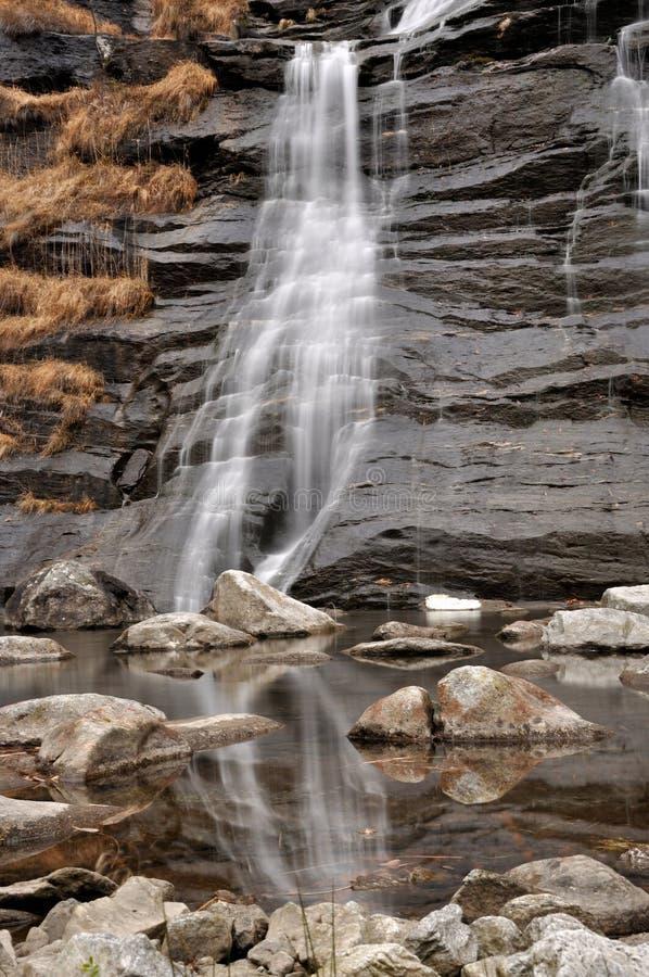 Άλπεις waterfall1 στοκ φωτογραφίες με δικαίωμα ελεύθερης χρήσης